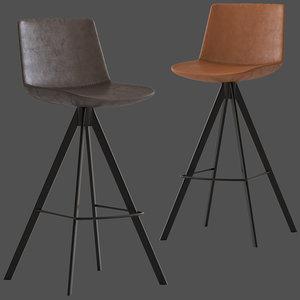 3D linea furniture dallas barstool