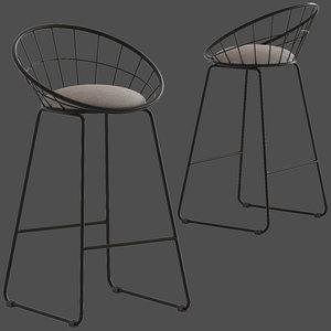 3D dwell home black nord model