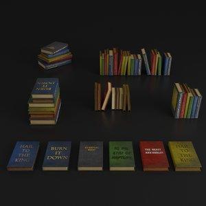 3D model books