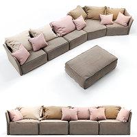 Erba Italia Indipendent Sectional sofa