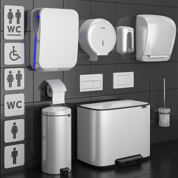 bathroom accessories set 73 model