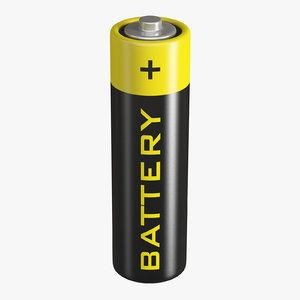 battery aa model