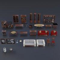 pack interior pbr 3D