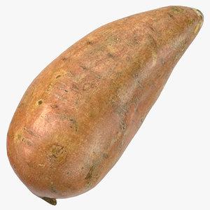 3D sweet potato 03 ready