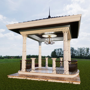 pavilions roda 3D model