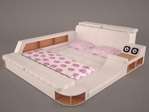 3D bed massage