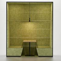 3D model sofa restaurant