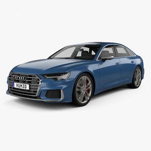 audi s6 2019 3D model