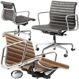 3D vitra ea118 chair
