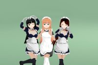 Anime Female Characters - Maids