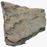 3D mountain rock 08