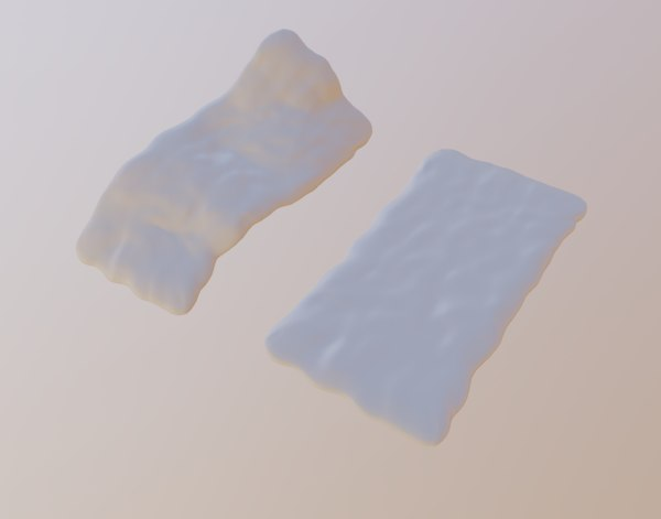 cushion furniture 3D model