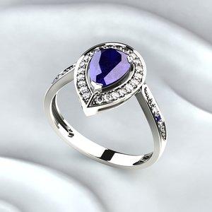 jeweler ring 3D model