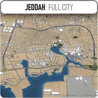 jeddah surrounding - model