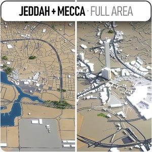 jeddah - mecca model