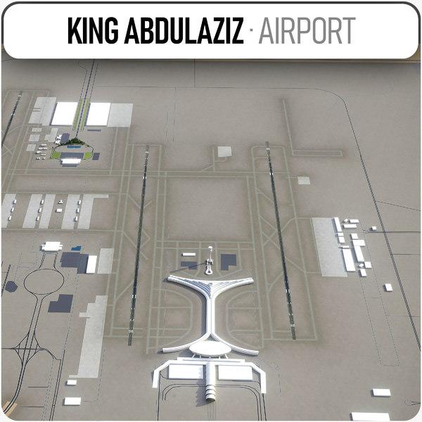 3D king abdulaziz international airport