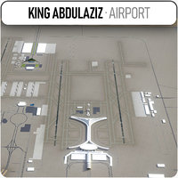 3D king abdulaziz international airport