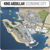 3D king abdullah economic