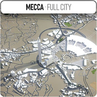 mecca surrounding - 3D model