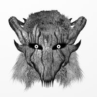 3D demon mask