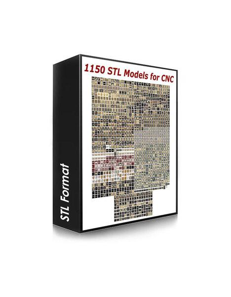 stl cnc routers compatible 3D