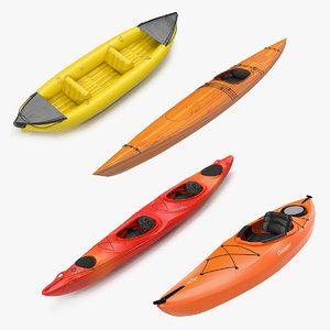 kayaks 2 3D model