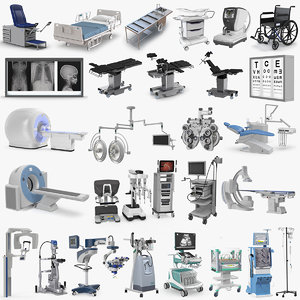 3D model medical equipment 4