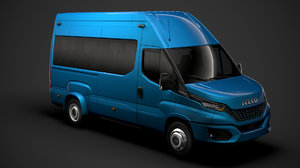 3D iveco daily blue power