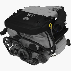3D parts nissan 350z vq35de