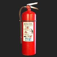 Realistic Fire Extinguisher