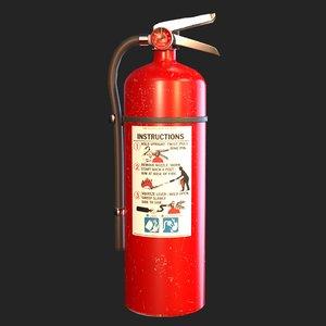 extinguisher pbr model