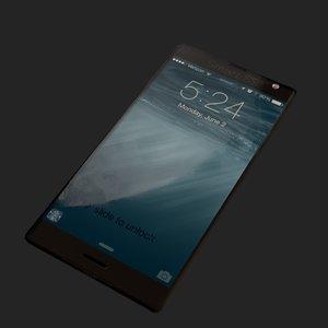 generic cellphone smart phone 3D