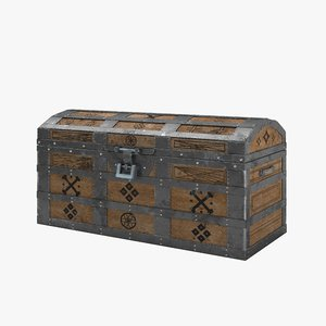 real chest 3D model