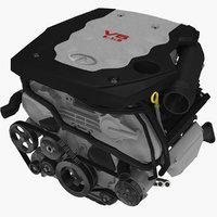 infiniti g35 vq35de 3 3D model