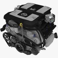 Nissan 370z VQ37VHR 3.7L engine