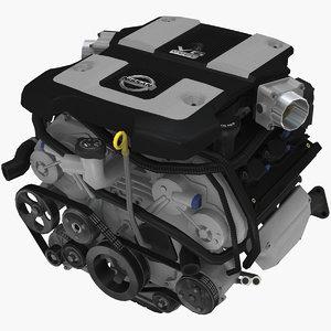 nissan 370z vq35hr 3 3D model