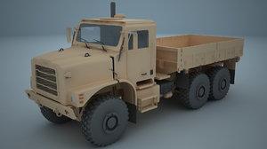 3D model oshkosh mtvr mk 25