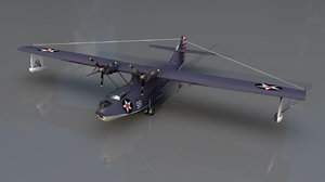 3D consolidated pby 5 catalina