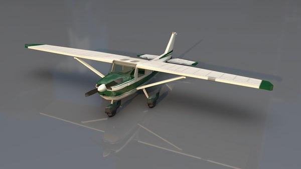 cessna business jet airplane 3D model