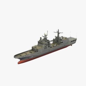 ivan gren class landing model