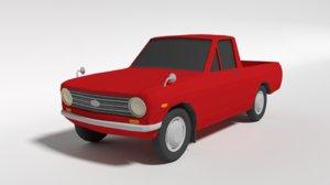datsun 1000 pickup b20 3D model