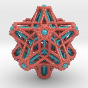 3D hedron stars nest