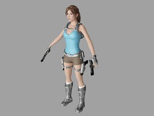 lara croft 3D