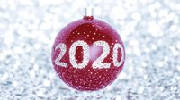 Happy New Year Merry Christmas Tree Toy 2020