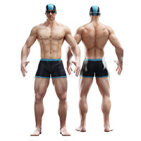 3D man character