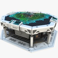 Sci-fi Table PBR
