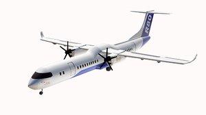 3D model r80 aircraft