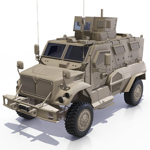 international maxxpro mrap 3D model