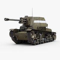 ww2 tacam r2 tank destroyer 3D