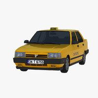 tofas dogan slx taxi 3D model